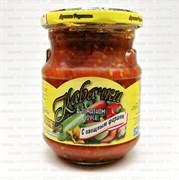 Лучшие рецепты Кабачки с овощным фаршем в томатном соусе 440мл