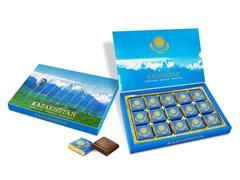 Набор шоколада Казахстанский художественная коробка трансформер 210г