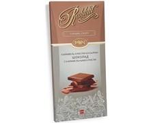 Шоколад Рахат с карамельными криспи 100г