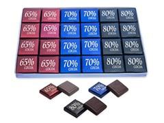 Набор шоколада Rakhat 65%, 70%, 80% 168г